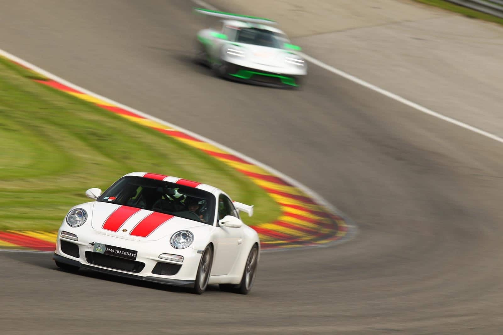 Racing a GT3 at Spa